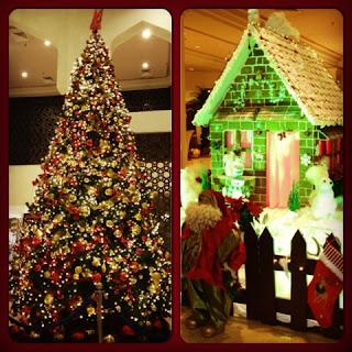 Christmas tree at Kempinski Ajman
