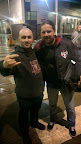 With Andreas Kisser, guitarist for SEPULTURA, London 2014