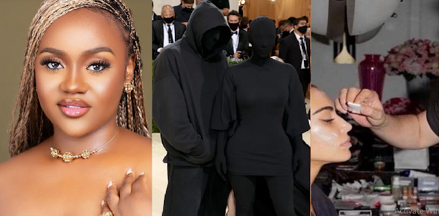 If You're Feeling Useless Remember Someone Did Kim Kardashian's Makeup For The Met Gala – Chioma Says