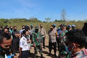 Wakapolda Sulsel Hadiri Peninjauan Lokasi Jalur Kereta Api Makassar - Parepare