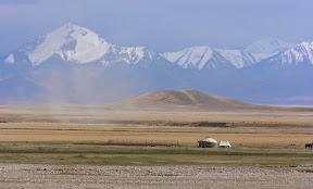 En route vers la Chine (depuis le Kirghistan)