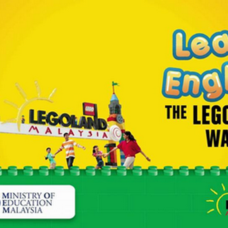 Program 'English Mania' di Legoland Malaysia