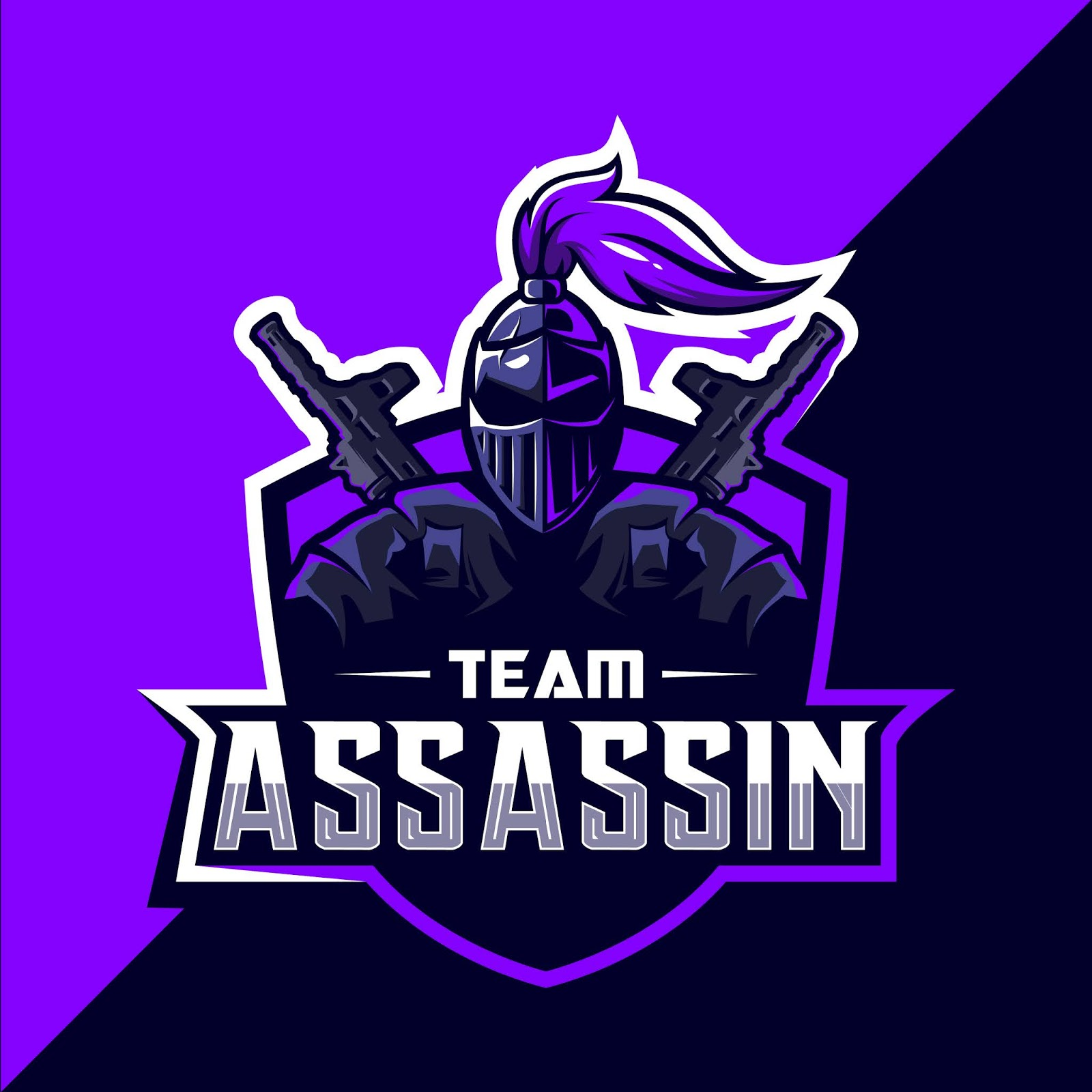Assassin Esport Logo Free Download Vector CDR, AI, EPS and PNG Formats