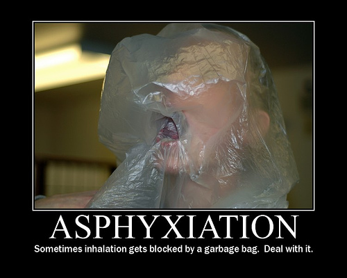 asphyxiation and hypoxyphilia / baggies can suffocate you