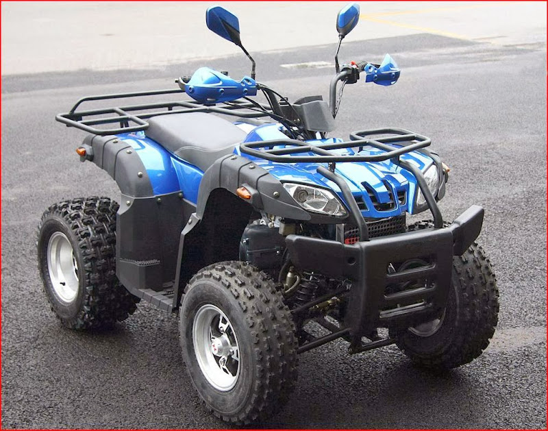 200cc Euro Auto farm Quad Bike Automatic ATV