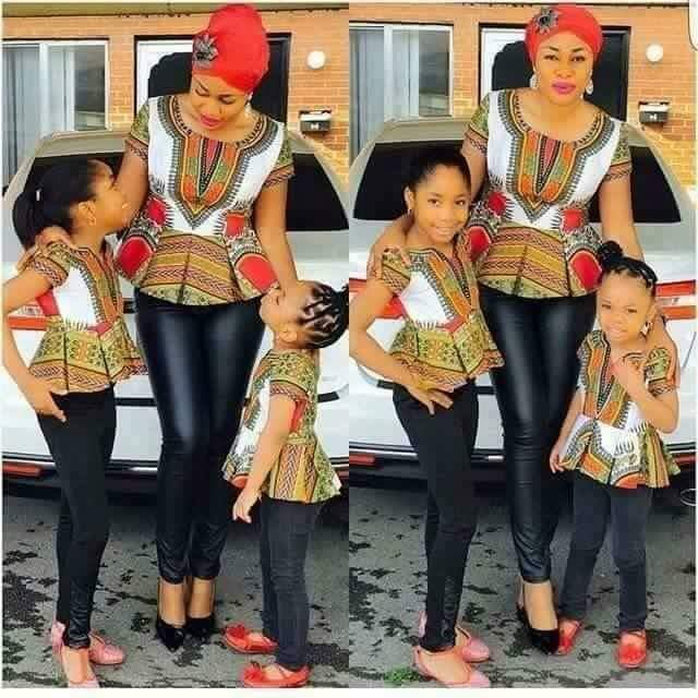 Fabulous Hot Styles For Mother And Child (Daughter) 9