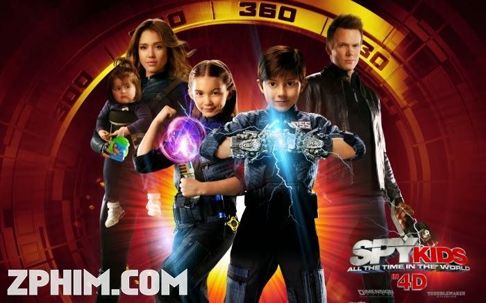 Ảnh trong phim Điệp Viên Nhí 4: Kẻ Cắp Thời Gian - Spy Kids: All the Time in the World in 4D 1