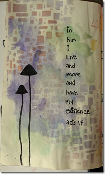 IN HIM I LIVE AND MOVE