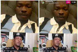 Don't answer any police officer who is not wearing his uniform - Police Spokesperson, Frank Mba says in Instalive chat with Naira Marley