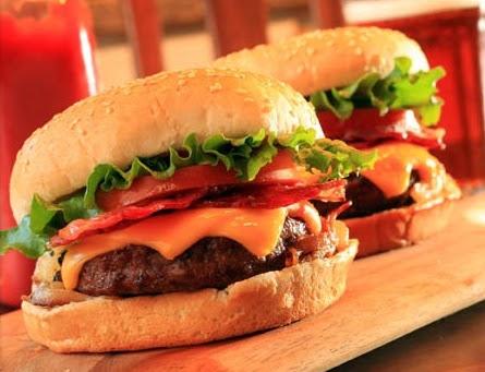 Receta de cocina de hamburguesa en ingles