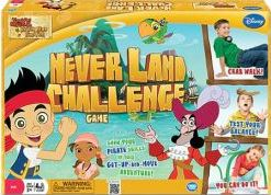 Jake and the Neverland Pirates Challenge Game
