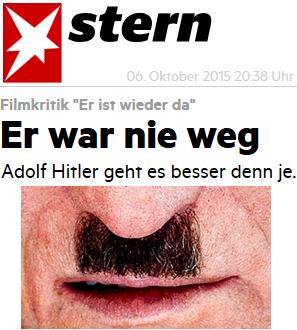 Adolf Hitler geht es besser denn je