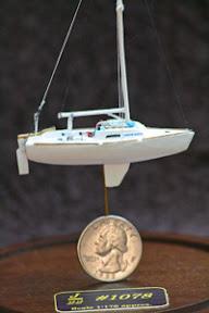 J/22 micro-scale model