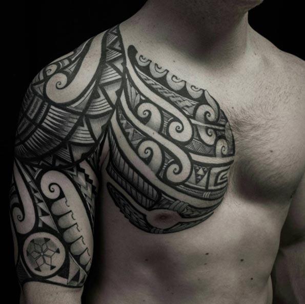 Este polinésia tribal tat