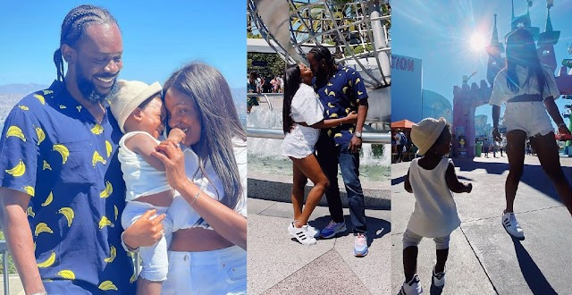 Simi and Adekunle Gold melt heart with their family vacation photos in America
