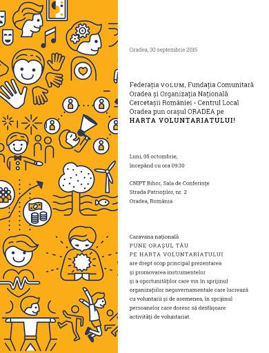 Pune oraşul Oradea pe harta voluntariatului #1