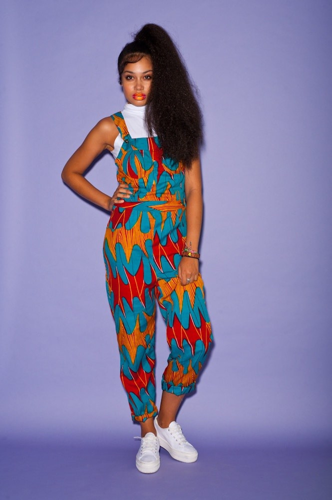 31631ee7be4 They are both fashion forward and also considerably easy to pull off as a  style suggestion. Some of the African print jumpsuits that have that  fashion ...