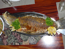 Barramundi cooked whole
