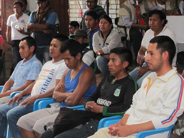 Audiencia pública en ejercicio de la jurisdicción especial indígena.