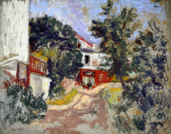 Ker Xavier Roussel - House behind Trees