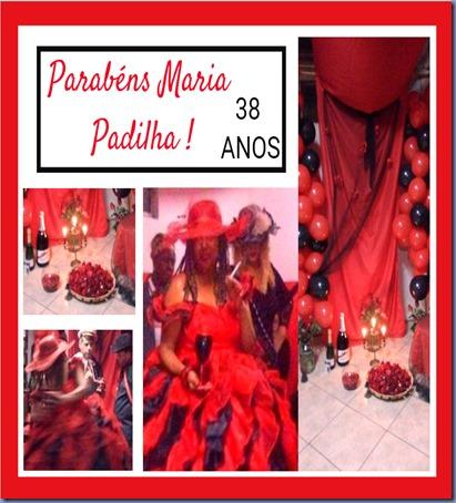 Parabéns Maria Padilha
