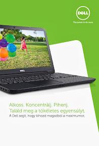 Dell nyári marketing anyagok és reklám plakát tervezés.