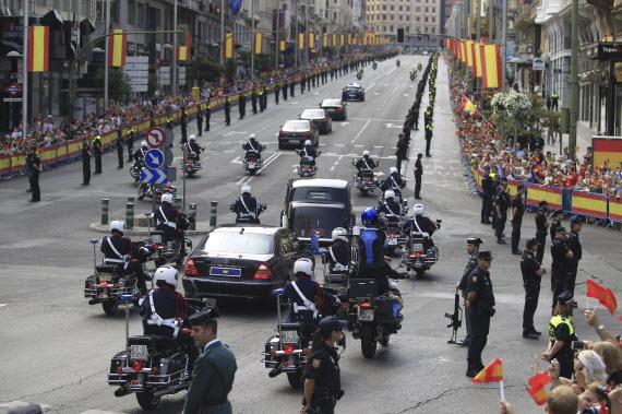 Madrid, escenario de la proclamación de Felipe VI como Rey de España