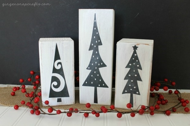 650 chalkboard Christmas trees