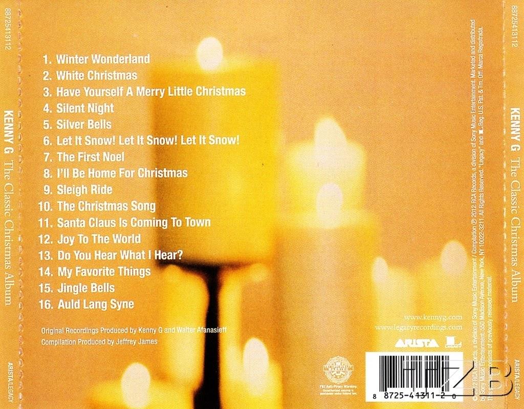 Kenny G - The Classic Christmas Album [Saxophone] - THU LỘC