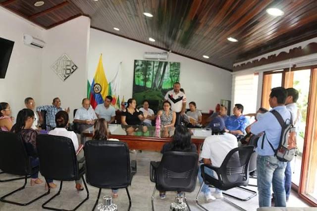 Reunión extraordinaria del Comité PAE, por intoxicación de los estudiantes