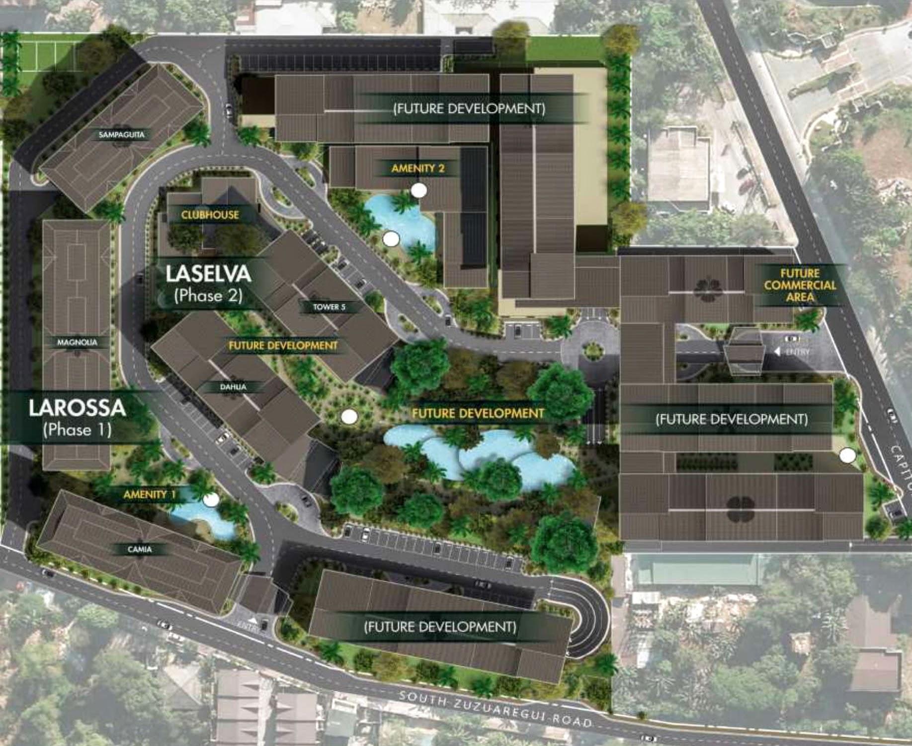 Laselva, Capitol Hills Drive, Quezon City site development plan