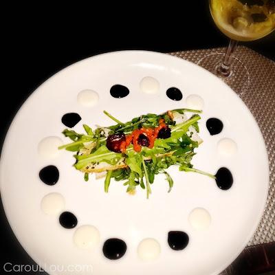 CarouLLou.com Carou LLou in Panama eating gourmet at TEN BISTRO +