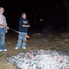 One fire for roasting the weenies