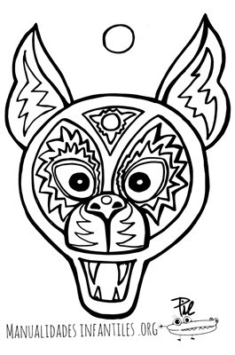 mascara de animales  para colorar (92)_thumb