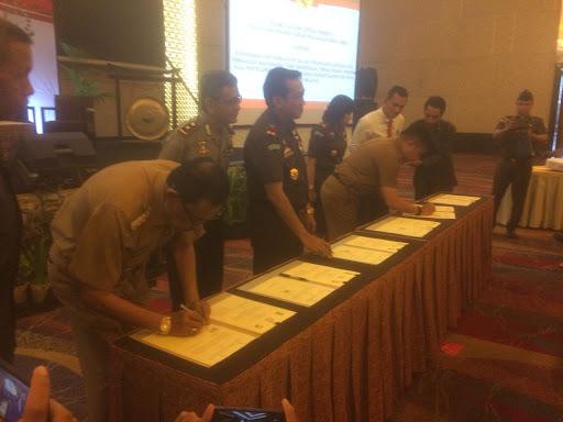 Bupati Sinjai Hadiri Rakorwasda 2018 di Makassar