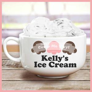 Ice Cream Scoop Bowl