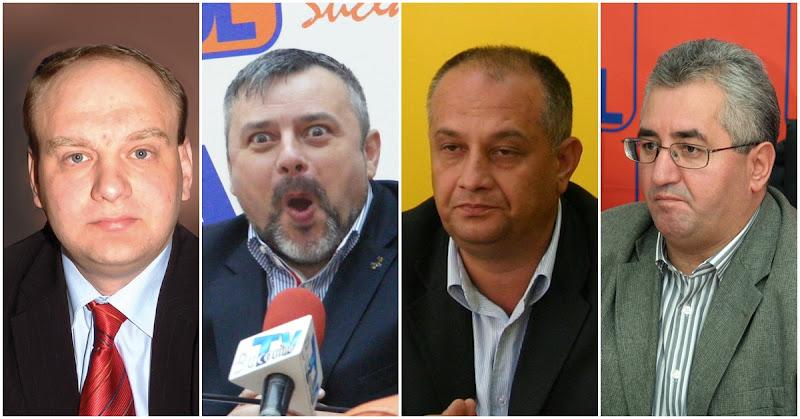 Ovidiu Donţu, Ioan Balan, Ştefan Alexandru Băişanu, Ion Lungu
