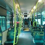 het interieur van de VDL ambassador van Connexion bus 8284
