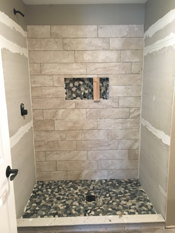 Building on Love - bathroom progress