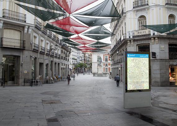Nuevo mobiliario urbano para la Ciudad de Madrid desde verano de 2016