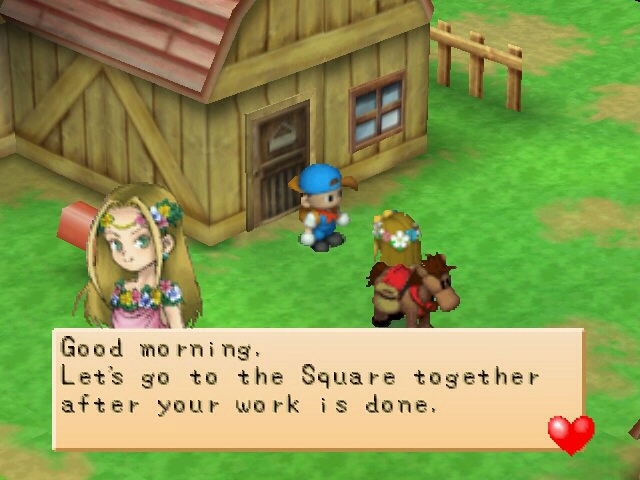 game harvest moon back to nature