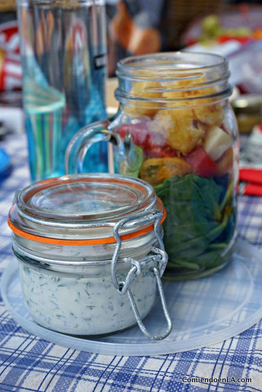 comida para picnic
