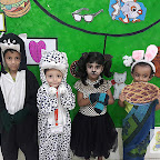 RHYME ENACTMENT BY NURSERY SECTION (2017-18) AT WITTY WORLD, BANGUR NAGAR