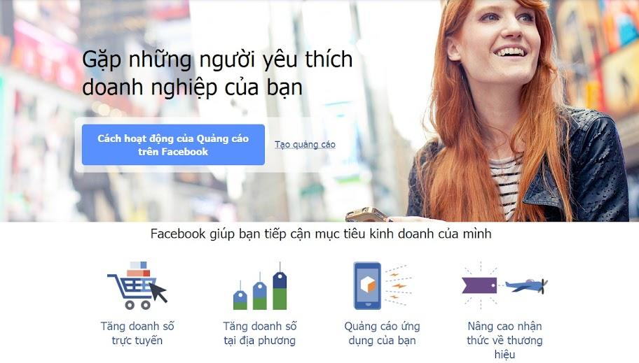 Facebook giúp bạn tiếp cận mục tiêu kinh doanh của mình