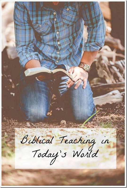 BiblicalTeachinginTodaysWorld