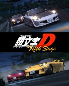Initial D Fifth Stage -  2013 Poster