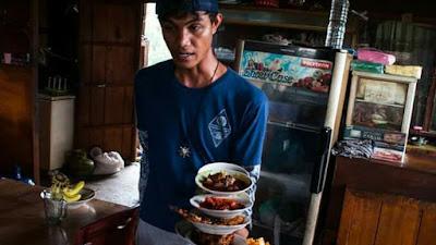 Tungku Pongek Lapuak , Sajian Lezat Dari Luhak Nan Tuo