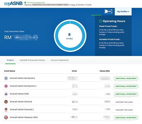 Cara Semak ASB Secara Online Melalui Portal MyASNB