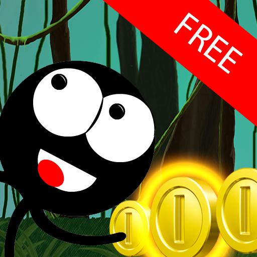 Stickman Run Jump: Free No Ads 解謎 App LOGO-硬是要APP