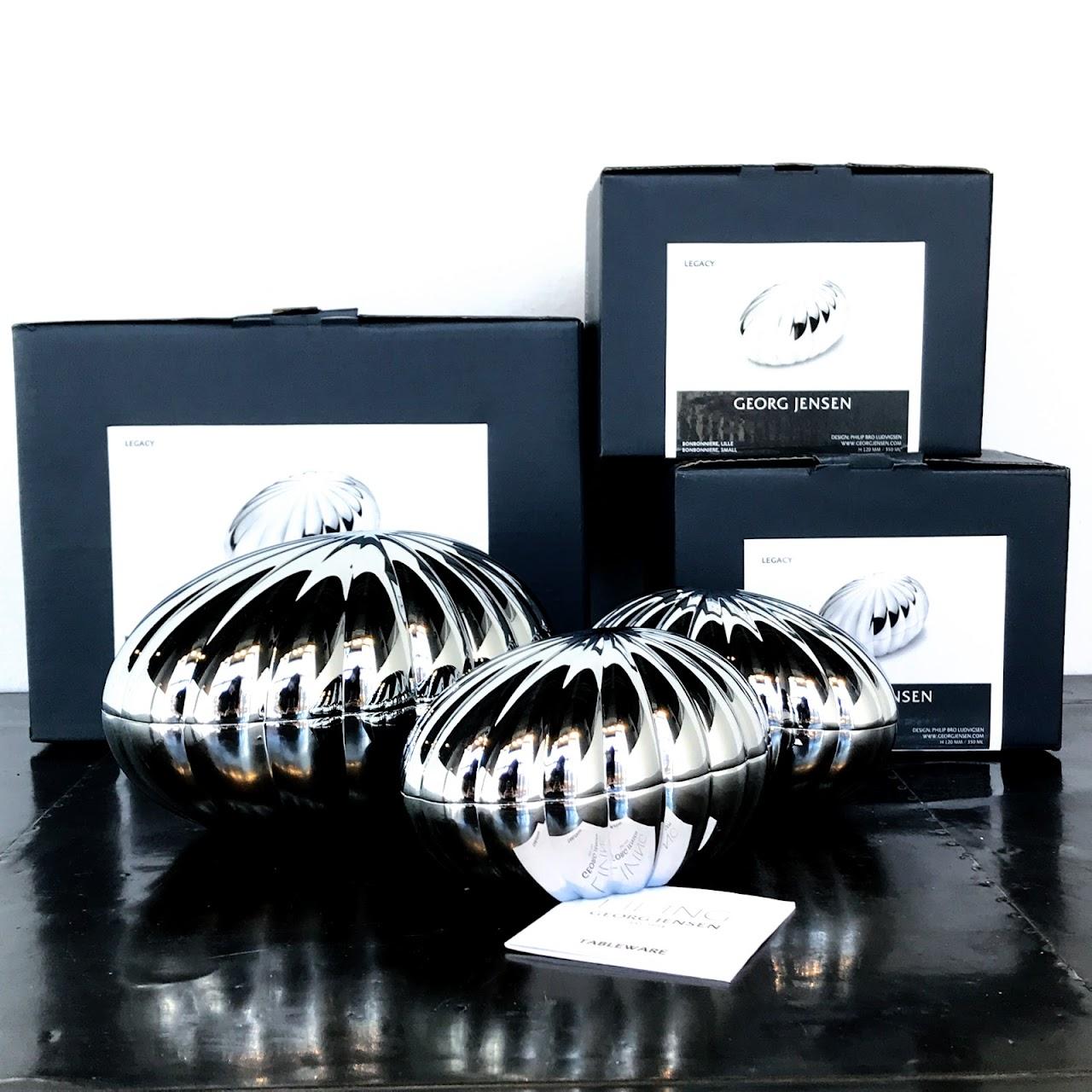 Splinterny Georg Jensen Legacy Bonbonniere Lot | Shophousingworks XX13
